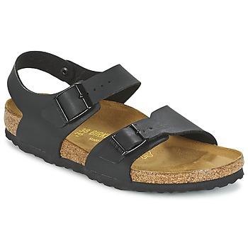 鞋子 儿童 凉鞋 Birkenstock 勃肯 NEW YORK 黑色