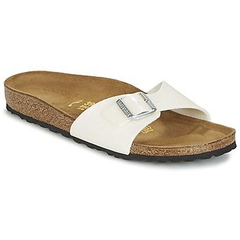 鞋子 女士 休闲凉拖/沙滩鞋 Birkenstock 勃肯 MADRID 白色