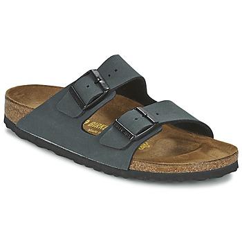 鞋子 休闲凉拖/沙滩鞋 Birkenstock 勃肯 ARIZONA 灰色