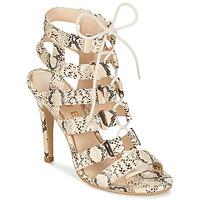鞋子 女士 凉鞋 Ravel OMAK 米色 / Python