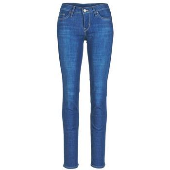 衣服 女士 紧身牛仔裤 Levi's 李维斯 712 SLIM Bay / Laurel / P7420