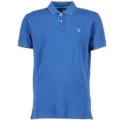 衣服 男士 短袖保罗衫 Gant CONTRAST COLLAR PIQUE 蓝色