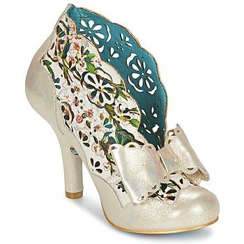 鞋子 女士 短靴 Irregular Choice SASSLE Irisé / 米色 / 花型