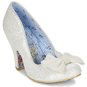 鞋子 女士 高跟鞋 Irregular Choice NICK OF TIME 白色 / 浅黄色