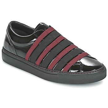 鞋子 女士 平底鞋 Sonia Rykiel 索尼亚·里基尔 SONIA BY - SLIPPINOI 黑色 / 波尔多红