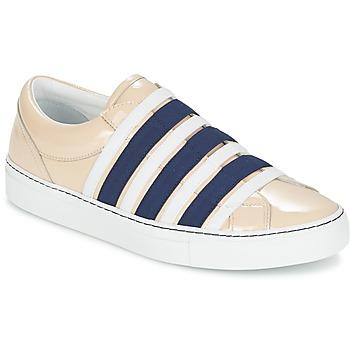 鞋子 女士 平底鞋 Sonia Rykiel 索尼亚·里基尔 SONIA BY - SLIPPINETTE 米色 / 海蓝色