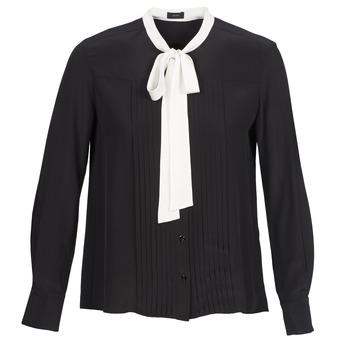 衣服 女士 衬衣/长袖衬衫 Joseph VICTOIRE 黑色
