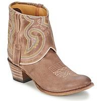 鞋子 女士 短筒靴 Sendra boots 11011 灰褐色