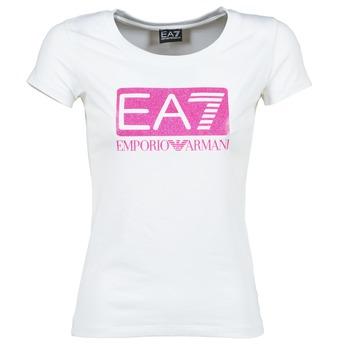衣服 女士 短袖体恤 EA7 EMPORIO ARMANI BEAKON 白色