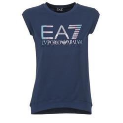 衣服 女士 短袖体恤 EA7 EMPORIO ARMANI ANDROUL 海蓝色