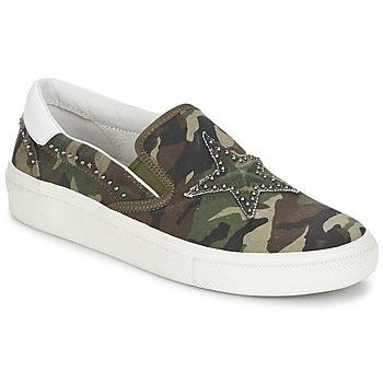 鞋子 女士 平底鞋 Ash 艾熙 NIKITA 绿色