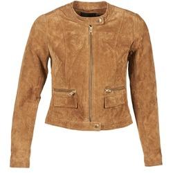 衣服 女士 皮夹克/ 人造皮革夹克 Only PAIGE 棕色