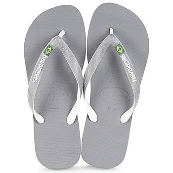 鞋子 人字拖 Havaianas 哈瓦那 BRASIL MIX 灰色