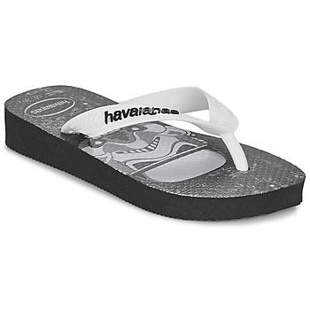 鞋子 男孩 人字拖 Havaianas 哈瓦那 STAR WARS 黑色 / 白色