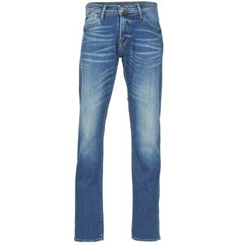 衣服 男士 直筒牛仔裤 Le Temps des Cerises 812 蓝色
