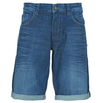衣服 男士 短裤&百慕大短裤 Celio DOVER 蓝色 / Fonce