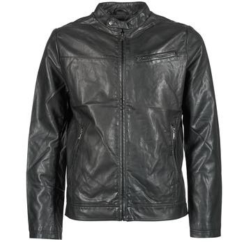衣服 男士 皮夹克/ 人造皮革夹克 Celio DUBIKER 黑色