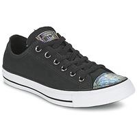 鞋子 女士 球鞋基本款 Converse 匡威 ALL STAR OIL SLICK TOE CAP OX 黑色