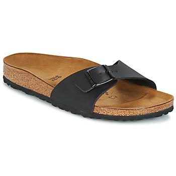 鞋子 女士 休闲凉拖/沙滩鞋 Birkenstock 勃肯 MADRID 黑色