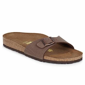 鞋子 女士 休闲凉拖/沙滩鞋 Birkenstock 勃肯 MADRID 棕色