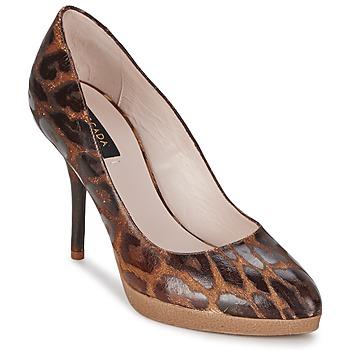 鞋子 女士 高跟鞋 Escada AS701 棕色 / Leopard