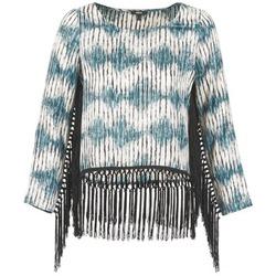 衣服 女士 长袖T恤 Mexx AMBRELI 蓝色