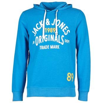 衣服 男士 卫衣 Jack & Jones 杰克琼斯 ATHLETIC SWEAT ORIGINALS 蓝色