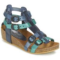 鞋子 女孩 凉鞋 Kickers BOMDIA 蓝色