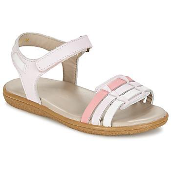 鞋子 女孩 凉鞋 Kickers VELOZ 玫瑰色