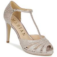鞋子 女士 凉鞋 Marian CHANVRO 米色 / Python
