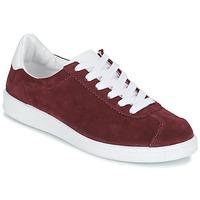 鞋子 女士 球鞋基本款 Yurban EMARTI 波尔多红