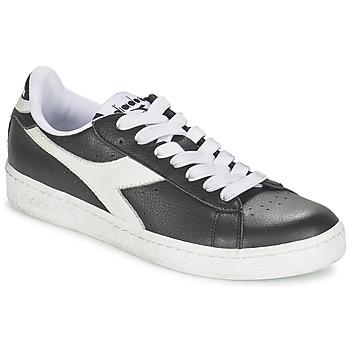 鞋子 球鞋基本款 Diadora 迪亚多纳 GAME L LOW 黑色 / 白色