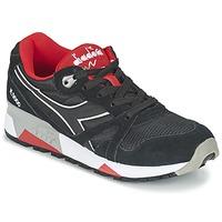 鞋子 球鞋基本款 Diadora 迪亚多纳 N9000 NYLON II 黑色 / 红色