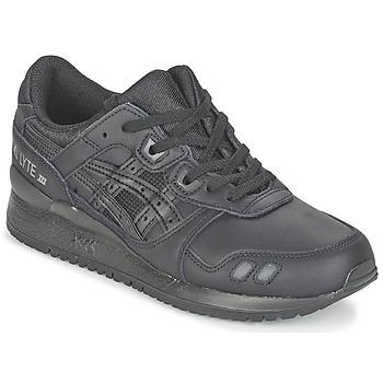 鞋子 球鞋基本款 Asics 亚瑟士 GEL-LYTE III 黑色