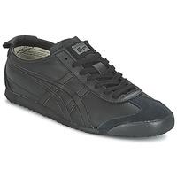 鞋子 球鞋基本款 Onitsuka Tiger 鬼冢虎 MEXICO 66 黑色