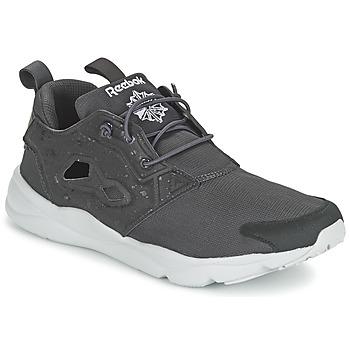 鞋子 男士 球鞋基本款 Reebok Classic FURYLITE SP 灰色 / 白色