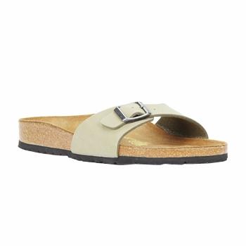 鞋子 女士 休闲凉拖/沙滩鞋 Birkenstock 勃肯 MADRID 卡其色