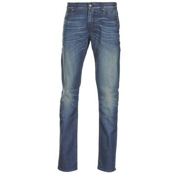 衣服 男士 紧身牛仔裤 7 for all Mankind RONNIE ELECTRIC MIND 蓝色 / Edium
