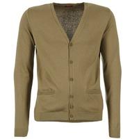 衣服 男士 羊毛开衫 B.O.T.D EFLOVA 灰褐色