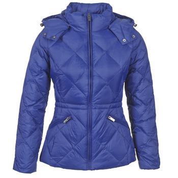 衣服 女士 羽绒服 Benetton FOULI 蓝色
