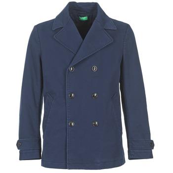 衣服 男士 大衣 Benetton FIMARA 海蓝色