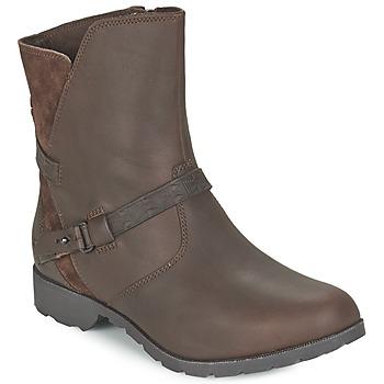 鞋子 女士 短筒靴 Teva DELAVINA LOW 棕色