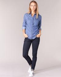 衣服 女士 紧身牛仔裤 Yurban ESQUINE 蓝色 / Brut