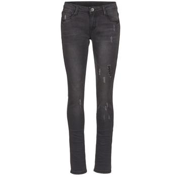 衣服 女士 紧身牛仔裤 Yurban IETOULETTE 黑色