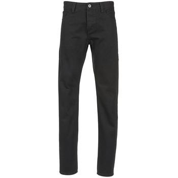 衣服 男士 直筒牛仔裤 Yurban IEDABALO 黑色
