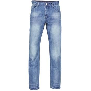 衣服 男士 直筒牛仔裤 Yurban EMIGUEL 蓝色 / 米色