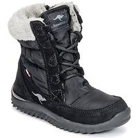 鞋子 女孩 雪地靴 Kangaroos CUPY JUNIOR 黑色
