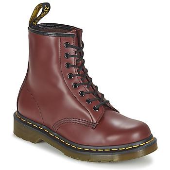 鞋子 短筒靴 Dr Martens 1460 红色
