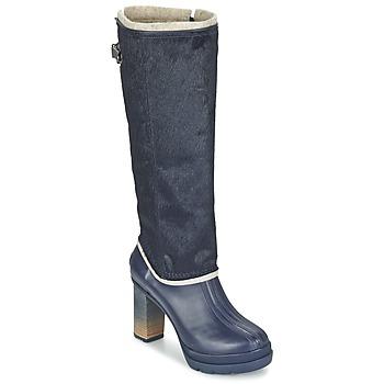 鞋子 女士 都市靴 Sorel MEDINA IV PREMIUM COLLEGIATE / 海军蓝 / 黑色