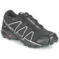 鞋子 男士 跑鞋 Salomon 薩洛蒙 SPEEDCROSS 4 GTX? 黑色 / 銀色